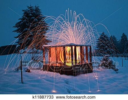 drawing beautiful lighting and fireworks inside wood cabin fotosearch search clipart illustration beautiful lighting