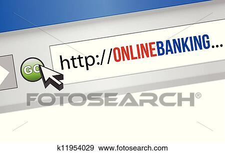 Online Banking Clipart Clip Art Online Banking