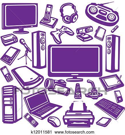 Electronic graphics