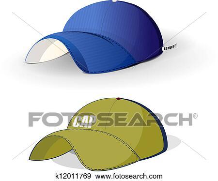 剪贴画 - 颜色, 帽子