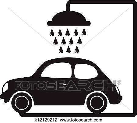 Clipart lavage voiture k12129212 recherchez des clip arts des illustrations des dessins et - Coloriage car wash ...
