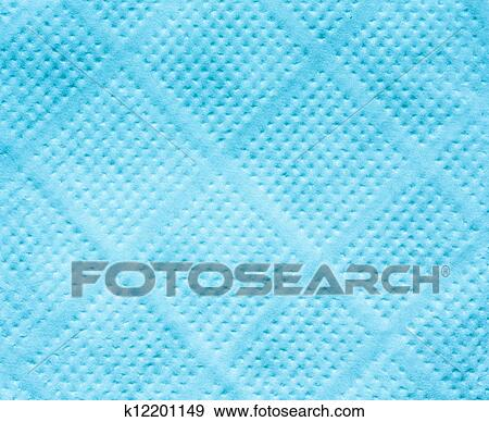 Blue Tissue Paper Texture Blue Paper Napkin Texture For