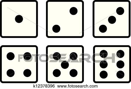 Dice Clip Art Royalty Free. 5,872 dice clipart vector EPS ...