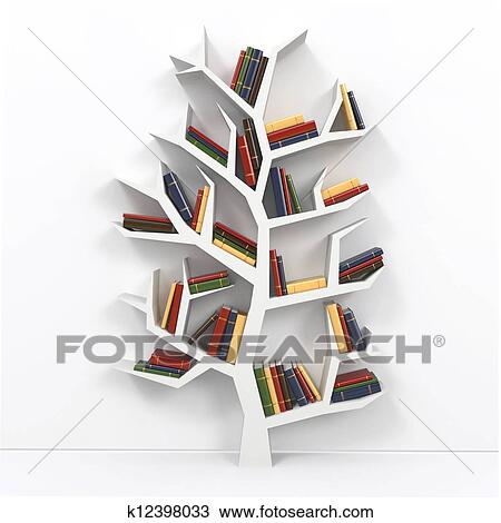 zeichnung baum von knowledge k12398033 suche clipart illustration. Black Bedroom Furniture Sets. Home Design Ideas