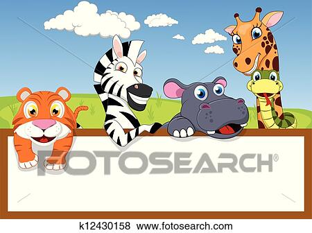 Entrance Clip Art Clip Art Zoo Animal Cartoon