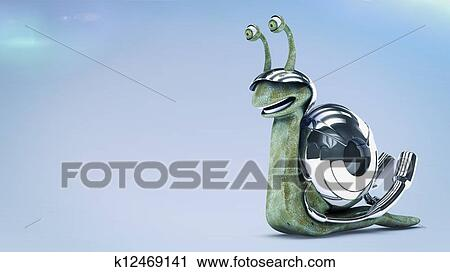 剪贴画 - 快, 蜗牛