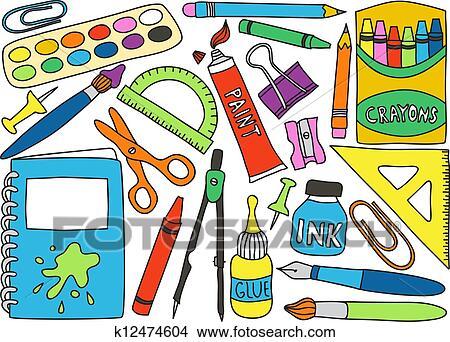 Büromaterial clipart  Büromaterial Clipart Illustrationen. 18.372 büromaterial Clip Art ...