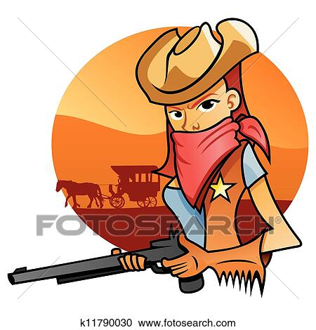 clipart of portrait od cowgirl k11790030 search clip art rh fotosearch com cowgirl clipart public domain cowgirl images clip art