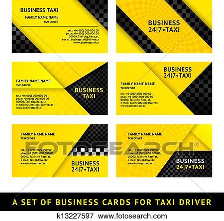 Clip art of business card taxi ninth set k13227597 search business card taxi ninth set colourmoves Images