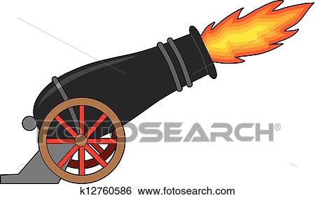 clip art of cannon k12760586 search clipart illustration posters rh fotosearch com canon clipart logo clipart of cannon