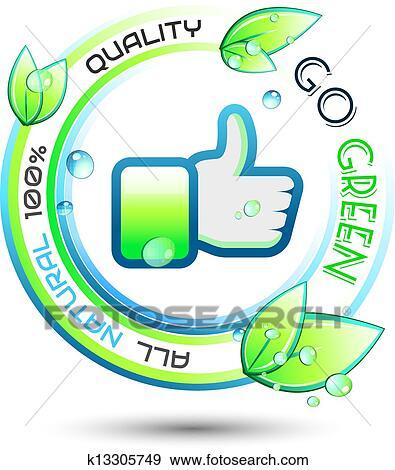 clip art of ecology green conceptual background k13305749 search rh fotosearch com Biology Clip Art Tree Clip Art