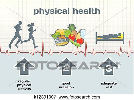 Clipart - santé physique, diagramme k12391007 - Recherchez ...