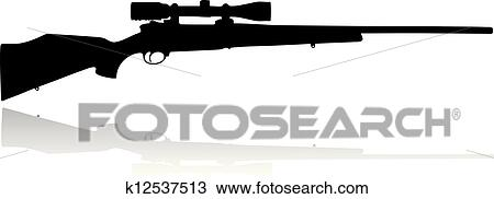 Rifle Clipart Clipart Sniper Scope Rifle