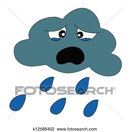 clipart of rain shower weather k12586402 search clip art