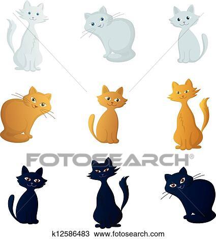 手绘图 - 猫, 放置图片