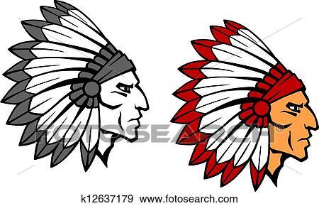 Clip Art Warrior Clipart warrior clipart eps images 16289 clip art vector brave indian mascot
