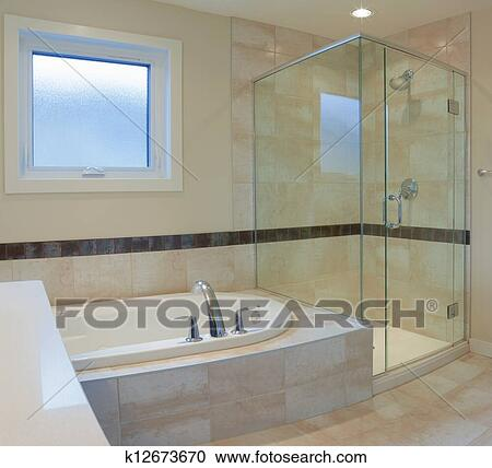 Stock fotografie badezimmer inneneinrichtung k12673670 for Badezimmer inneneinrichtung
