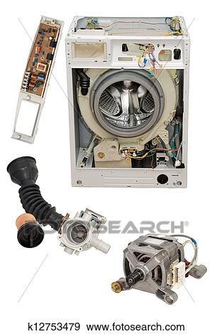 pictures of washing machine parts