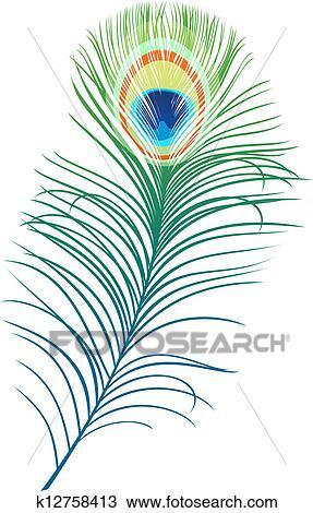 clipart plume de paon k12758413 recherchez des clip arts des illustrations des dessins. Black Bedroom Furniture Sets. Home Design Ideas