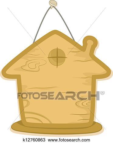 手绘图 - 房子, 板