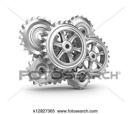 Clockwork Gears Clipart