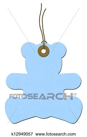 Baby Blue Teddy Bear Clip Art