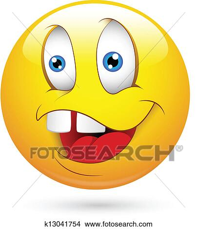 Clipart muet visage smiley vecteur k13041754 recherchez des clip arts des illustrations - Dessins de smiley ...