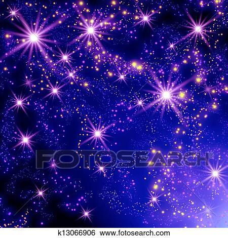 Как сделать падающие звезды в фотошопе