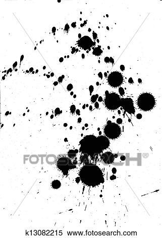 - 黑色的墨水图片