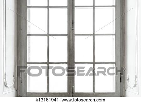 Clipart of Window in white frame k13161941 - Search Clip ...