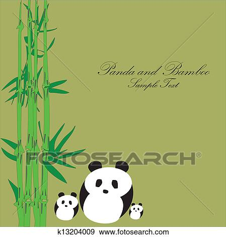 - 熊猫, 带,