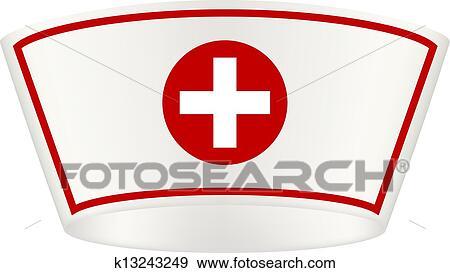 Clip Art Nurse Hat Clip Art nurse cap clip art eps images 765 clipart vector cap