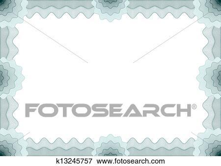 clip art rahmen f r gutschein bescheinigung k13245757 suche clipart poster. Black Bedroom Furniture Sets. Home Design Ideas