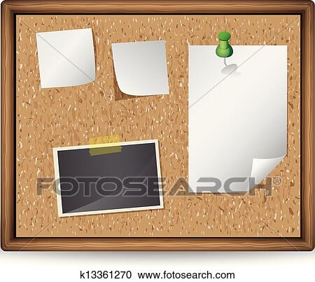 Bulletin board Clip Art Royalty Free. 3,694 bulletin board clipart ...