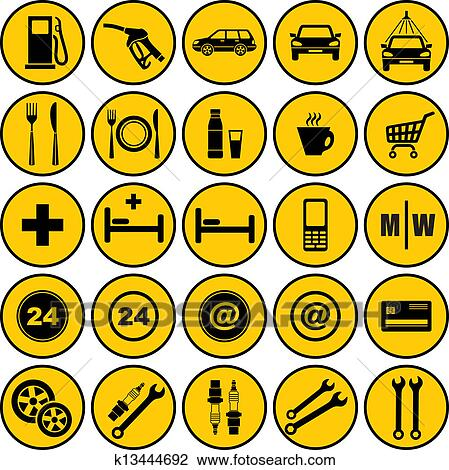 K Gas Station Logos Gas station icons View Large Clip Art Graphic
