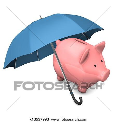 手绘图 - 猪一般的银行