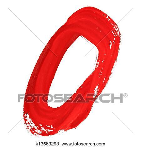 图吧- 红, 手写, 数字图片