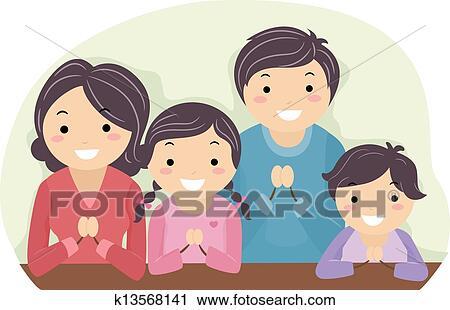Clip Art Praying Clipart praying clipart illustrations 17543 clip art vector eps family praying