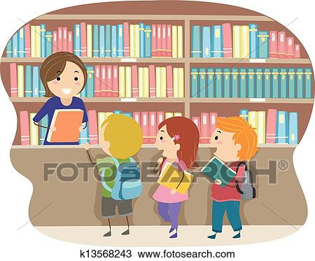 Kids in a Library