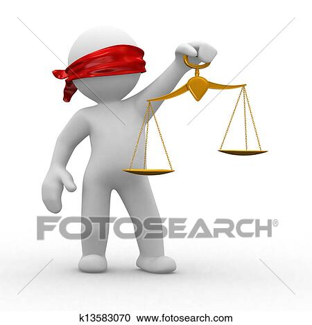 stock illustrations of blind justice k13583070 search