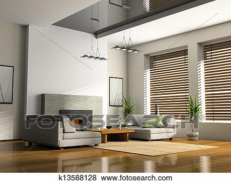 Images int rieur maison chemin e et sofas 3d rendre k13588128 recherchez des photos - Cheminee interieur maison ...