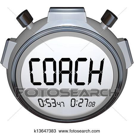 Dessin entra neur chronom tre minuteur train - Chronometre et minuteur ...