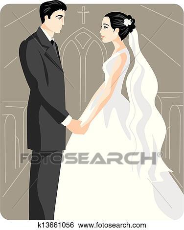 剪贴画 - 婚礼