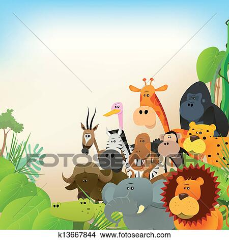 Wildlife Clip Art EPS Images. 114,199 wildlife clipart vector ...