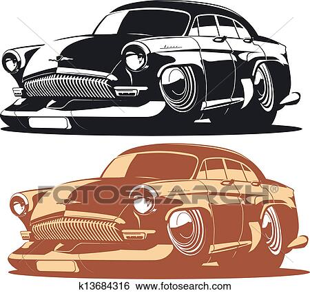 clipart dessin anim voiture k13684316 recherchez des cliparts des illustrations des. Black Bedroom Furniture Sets. Home Design Ideas