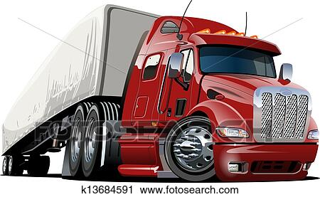 Tractor trailer Clip Art and Illustration. 3,189 tractor trailer ...
