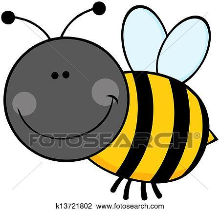 Bumble Bee Drawing Cartoon - Drawing Art Concept