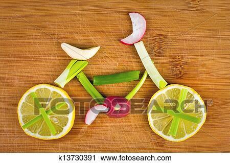 免版税(rf)类图片 - 健康的生活方式, 概念, -, 蔬菜