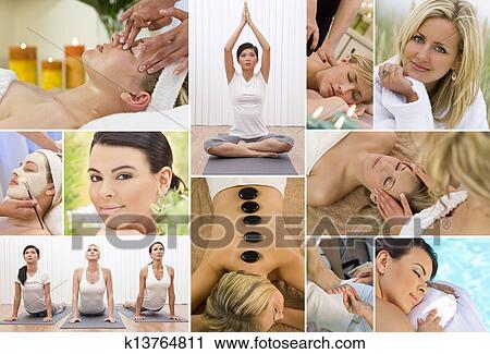 Montage Asian Women Photo 79