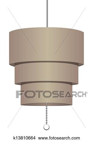 手绘图 - 天花板, 固定装置